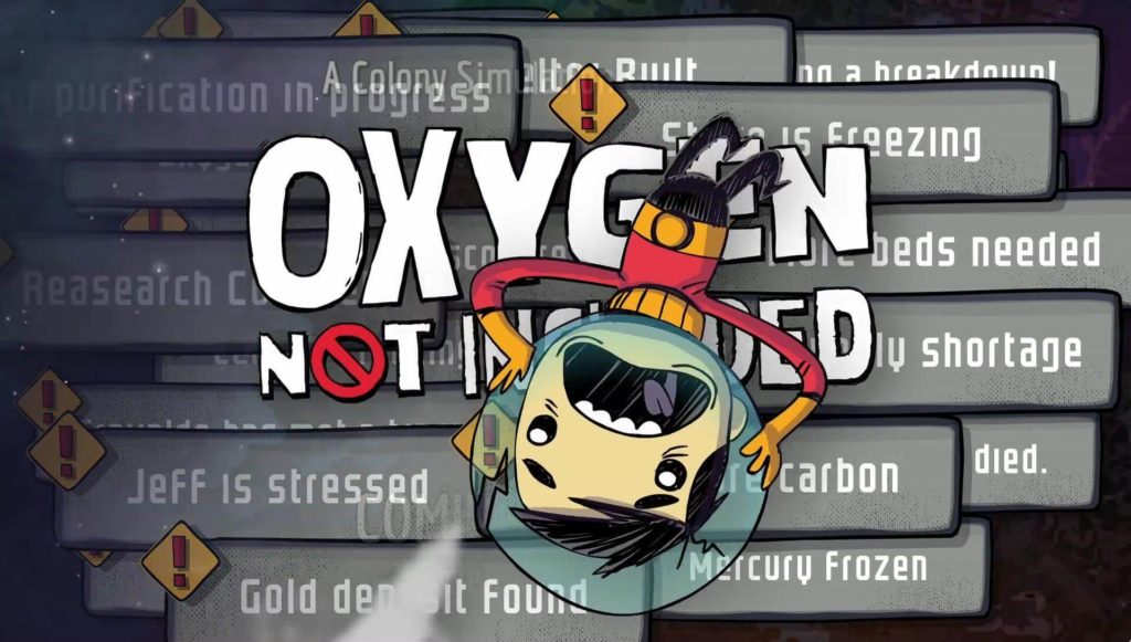 oxygen not included torrent indir